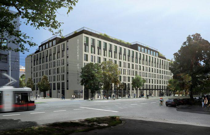 """""""THE FIZZ"""": Ein Apartmenthaus für Studierende und Start-Up's"""