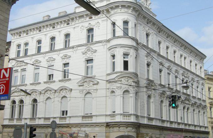Fassadensanierung Hernalser Hauptstraße 38 in Wien